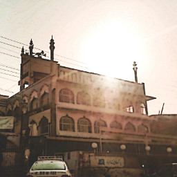 shrine karachi pakistan outdoor sun