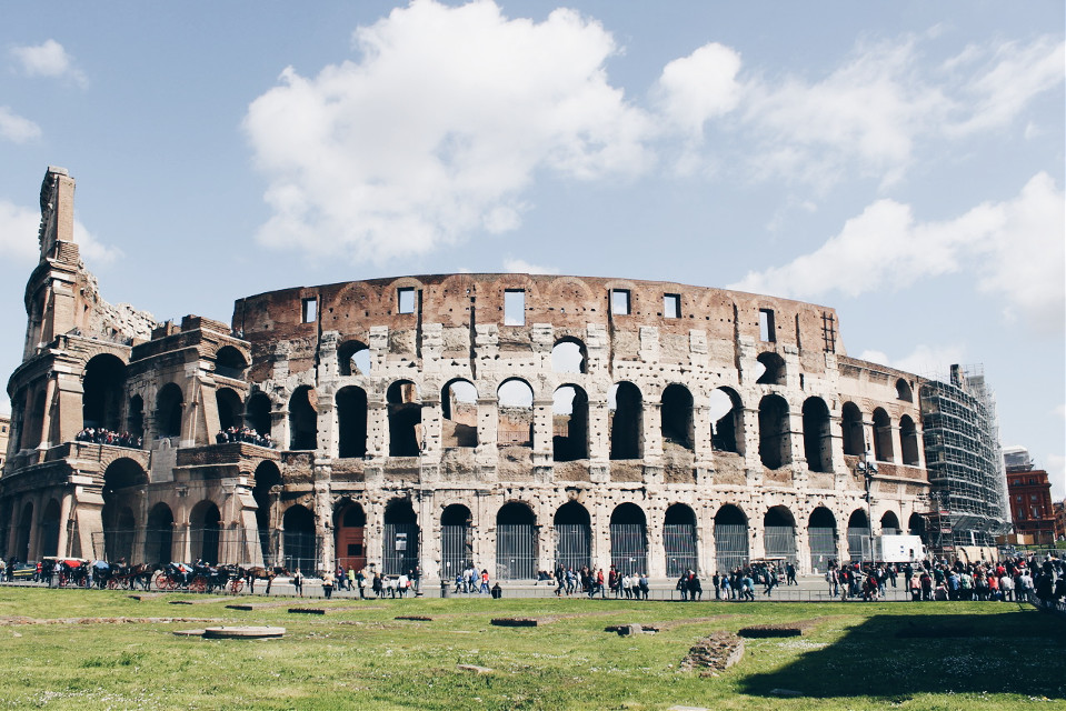 The Coloseum  Rome//Italy  #freetoedit #Rome #italy #outdoors #sky  #pretty  #landscape