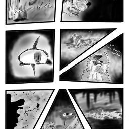 1 comic finnish death hopeakoira