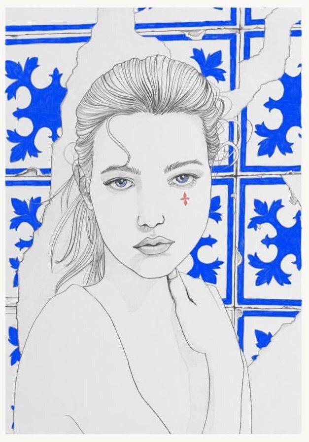 Woman / by Rocio Vigne #illustration #draw #drawing #pencil #ink #handmade #rociovigne