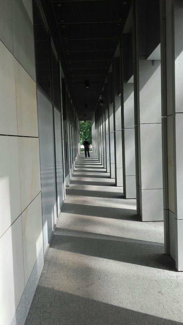 #perspective #city #corridor #building #architecture