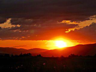 summer sky sunset orange photography