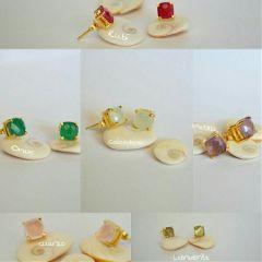 earring pendientes goldplated accesorios flordeaguaaccesorios