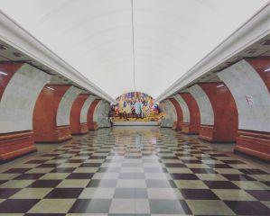 underground subway moscow architecture travel