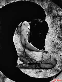 artisticselfie darkart emotions blackandwhite