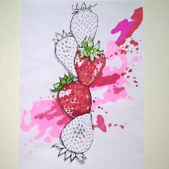 sketch drawing markers colorsplash nature