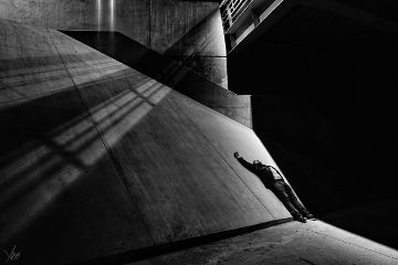 shadow interesting beton architecture stairs