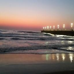 southafrica durban beachselfie sunrise pier