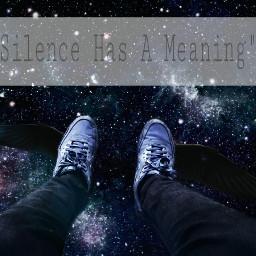 silence space galaxy moody