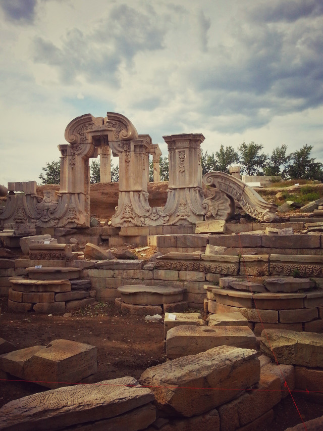the Old Summer Palace  2
