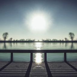mirror mirroreffect seafoameffect landscape sunrise