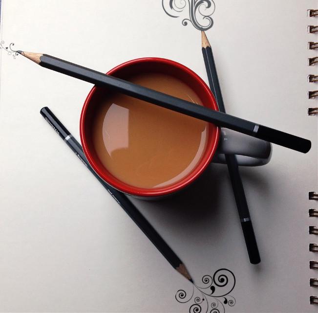 Being creative + tea.  #tea #creative