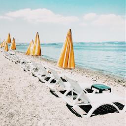 summer sky beach sea seaside