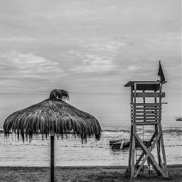 beach blackandwhite nature bnw dark