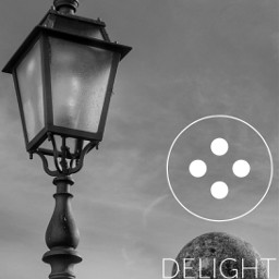 blackandwhite clipart playwithpicsart delight lamp_art
