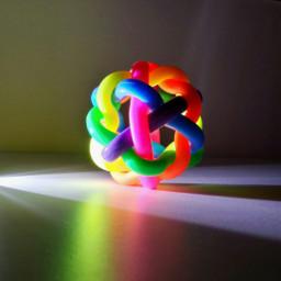 colorful light photography rainbow glow freetoedit