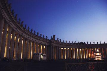 aliveatnight stpeters stpetersbasilica basilica vatican freetoedit