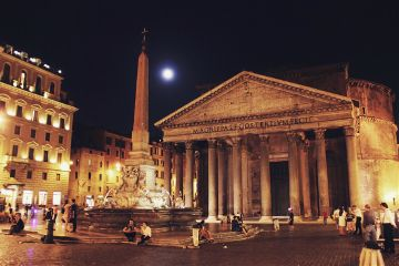 aliveatnight pantheon moon fullmoon moonlight freetoedit