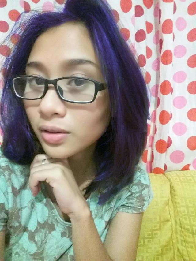 #beautiful #bestfriend #notme #love #emotions #people #colorsplash #photography #selfie #haircolor #cosmic #galaxy #overlays