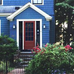 carolscolormatch i house redwhiteandblue neighborhood freetoedit