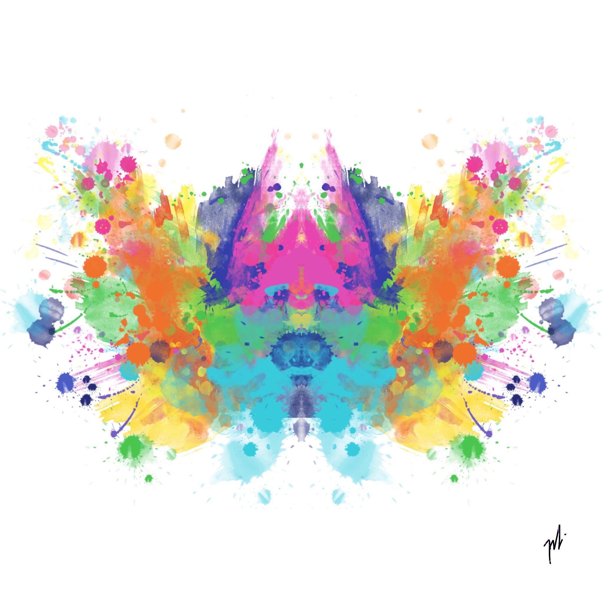 #splashofcolor #rorschach #madewithpicsart