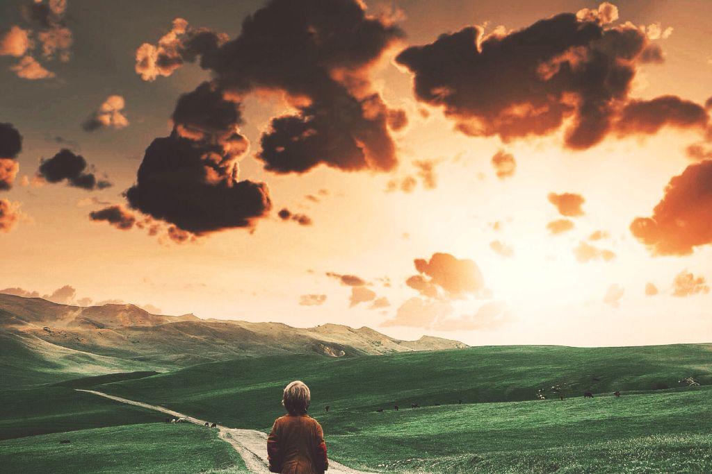 #landscape #cloudy #edited #dreamy  OP-unsplash