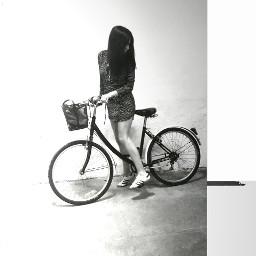 bike bicycle retrobike bnw blackandwhite