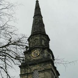 clock tower goth gothic edimburgo