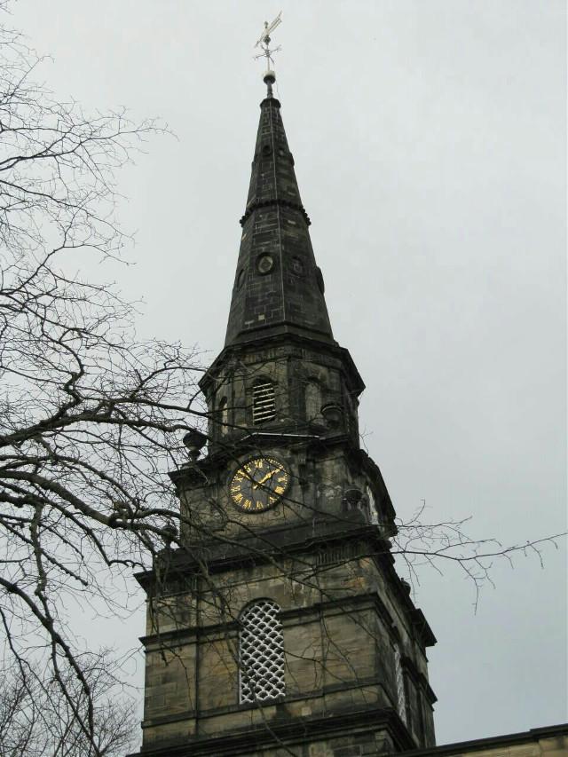 #clock #tower #goth #gothic #Edimburgo  Good morning ☺