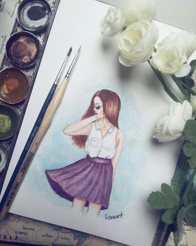 Lost in Dreams  #pencilart #summer #people