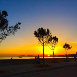 sunset seaside summer photography