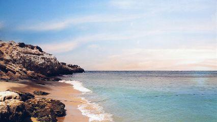 beach colorful cute freetoedit nature