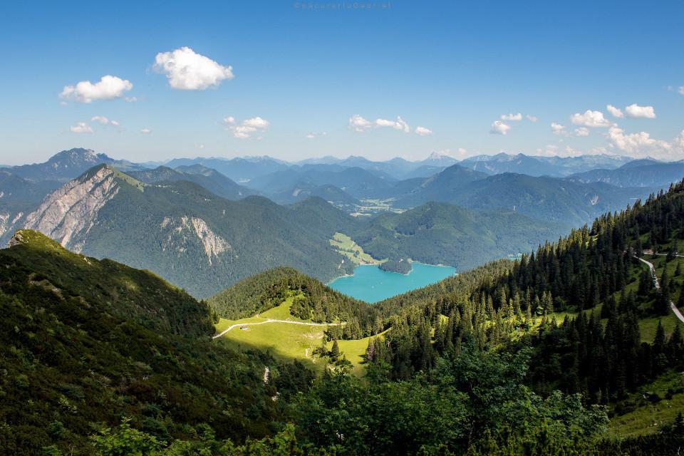 Walchensee,Germany #landscapephotography #mountains #freetoedit