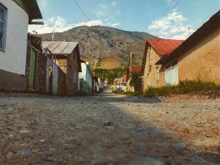 travel uzbekistan landscape mountains nature