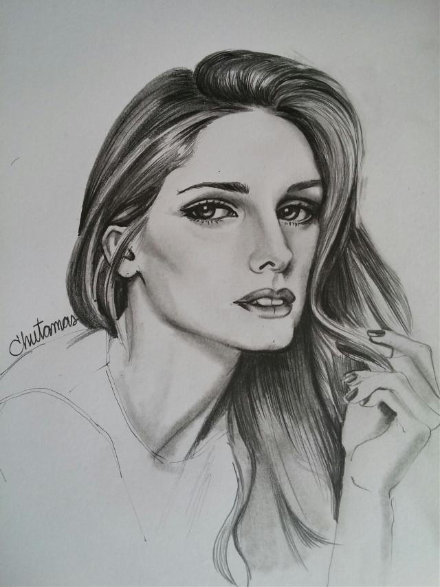 #drawing  #Olivia Palermo