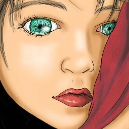 digitalart sketchbookpro painting portrait artist