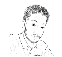 me outline drawingproject selfie wdphairstyle