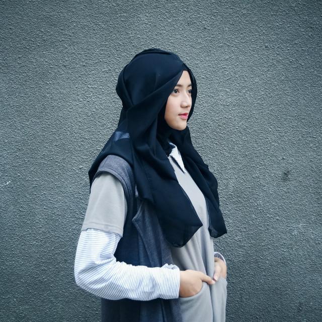 Be unique Be primary key Be you ^_^  #FreeToEdit #portrait #portraiture #portraitphotography #modelstyle #hijabfashion