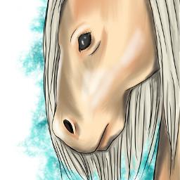 painting digitalart sketchbookpro portrait horse freetoedit