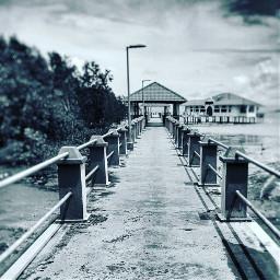 beach bridge