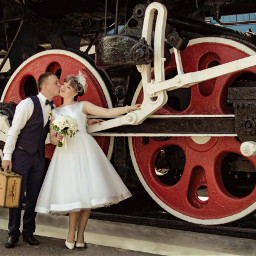 freetoedit locomotive puffer wedding love