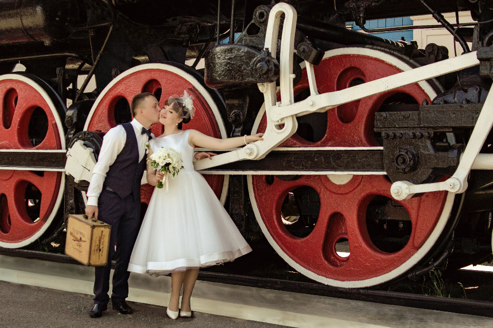 #FreeToEdit  #locomotive  #puffer #wedding  #love  #50th #couple #emotions  #togetherforever  #photography  #photostory  #girl #guy #bokeh #lovestory #summer #travel  #NinaRaccoon #vintage   @pa