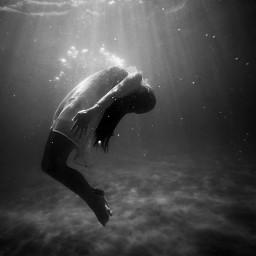 freetoedit sea ocean human diving