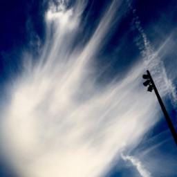 sky cloud blue skyblue