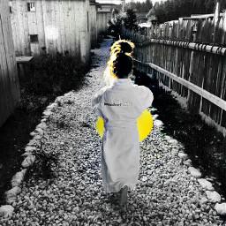 childrenphoto colorsplash blackandwhite baby