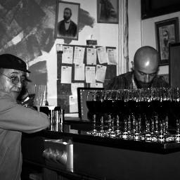 journalism sudden glance bar drink