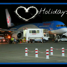 freetoedit airplanes holiday landscape