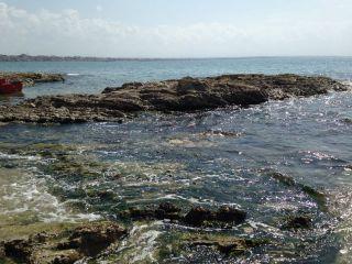 sea beach blue waves nature