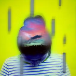blur doubleexpo doubleexposure sky bright freetoedit