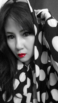 selfie freetoedit blackandwhite colorsplash me